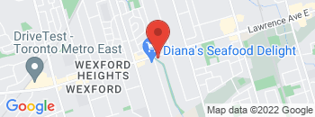Google Map of 2115+Lawrence+Avenue+East%2CScarborough%2COntario+M1R+2Z8