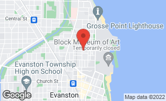 Map of 2119 Sherman Avenue EVANSTON, IL 60201