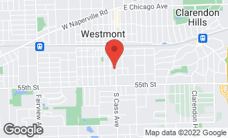 Map of 212 South Cass Avenue WESTMONT, IL 60559