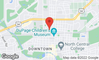 Map of 212 West 6th Avenue NAPERVILLE, IL 60563