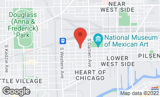 Map of 2121 West 19th Street G CHICAGO, IL 60608