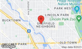 Map of 2122 North Magnolia Avenue CHICAGO, IL 60614
