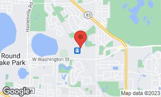 Map of 21238 West Washington Street GRAYSLAKE, IL 60030
