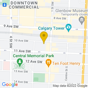 Map to Nite Owl provided by Google