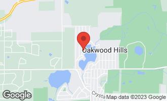 Map of 213 West Lake Shore Drive OAKWOOD HILLS, IL 60013