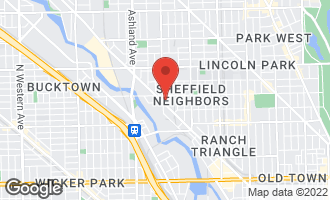 Map of 2135 North Southport Avenue #101 CHICAGO, IL 60614