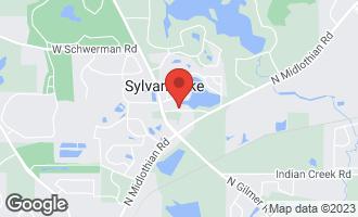 Map of 21368 South Sylvan Drive West MUNDELEIN, IL 60060