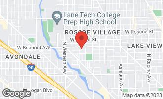 Map of 2138 West Fletcher Street CHICAGO, IL 60618