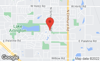 Map of 2139 North Coldspring Road ARLINGTON HEIGHTS, IL 60004