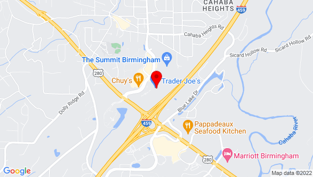 Google Map of 214 Summit Boulevard, Birmingham, AL 35243