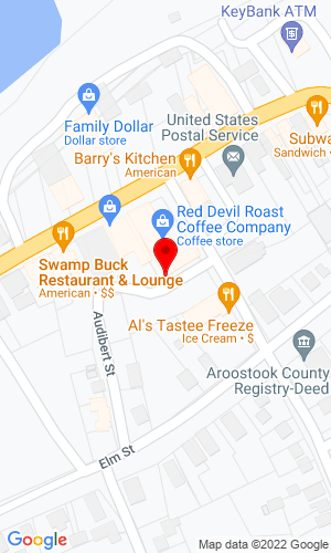 Google Map of Roger's Sport Center, Inc. 214 West Main Street, Fort Kent, ME, 04743
