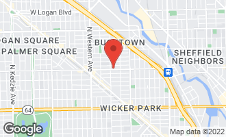 Map of 2140 West Armitage Avenue 2E CHICAGO, IL 60647