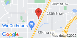 Google Map of 21401 72nd Avenue West+Edmonds+WA+98026