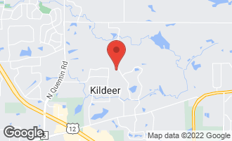 Map of 21402 North Andover Road Kildeer, IL 60047