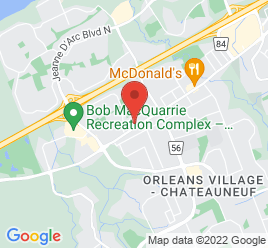 Google Map of 2141+St.+Joseph+Boulevard%2COrleans%2COntario+K1C+1E7