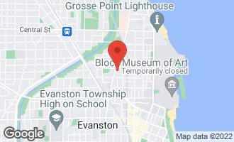 Map of 2141 Ridge Avenue 2E EVANSTON, IL 60201