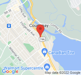 Google Map of 2145+Cliffe+Avenue%2CCourtenay%2CBritish+Columbia+V9N+2L5