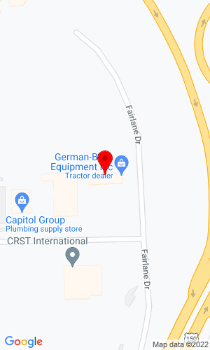 Google Map of German-Bliss Equipment 215 Fairlane Drive, East Peoria, IL, 61611
