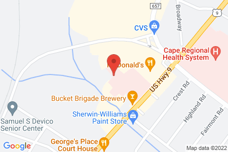 Map of Volunteer opportunity Location