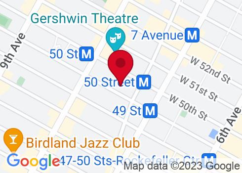 Ambassador Theatre Google Maps Location