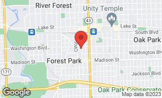 Map of 215 Marengo Avenue 3H FOREST PARK, IL 60130
