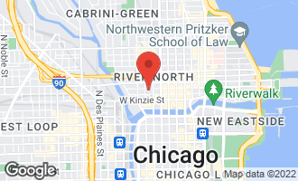 Map of 215 West Illinois Street 3A CHICAGO, IL 60654