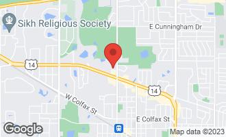 Map of 215 West Jennifer Lane #6 PALATINE, IL 60067