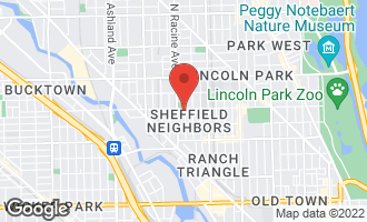 Map of 2150 North Clifton Avenue #2 CHICAGO, IL 60614