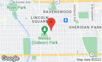 Map of 2155 West Windsor Avenue CHICAGO, IL 60625