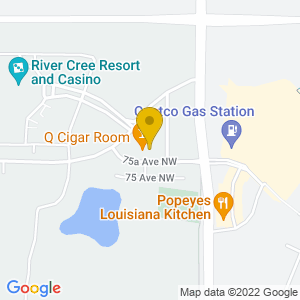 Map to Q Cigar Room provided by Google