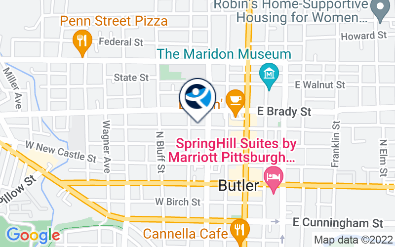 Butler Regional Recovery Program Family Resource Center Location and Directions