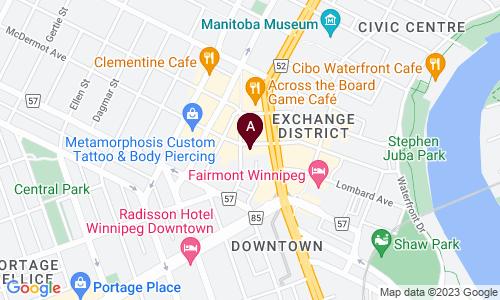 map of FOOTW3RK DANCE CLUB