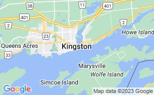 Map of Lake Ontario Park Campground