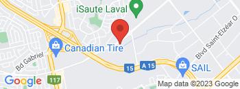 Google Map of 2160+Boul.+Dagenais+Ouest%2CLaval%2CQuebec+H7L+5X9