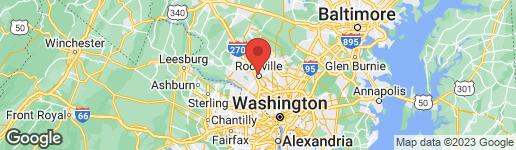 Map of 217 ADAMS STREET N ROCKVILLE, MD 20850