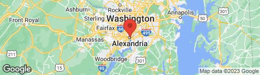 Map of 217 King Street Alexandria, VA 22314