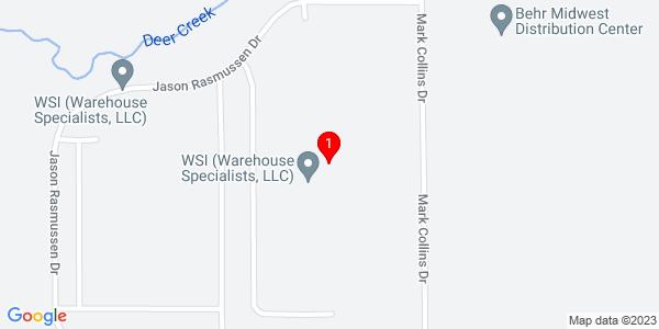 Google Map of 21700 Mark Collins Dr., Sauk Village IL 60411