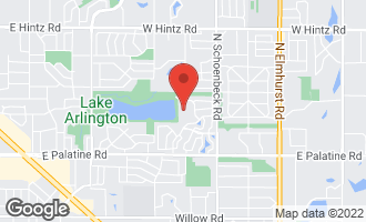 Map of 2176 North Lake Shore Circle ARLINGTON HEIGHTS, IL 60004
