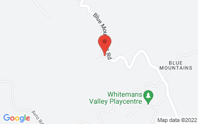 Map of 218 Blue Mountains Road, Blue Mountains, Upper Hutt, New Zealand