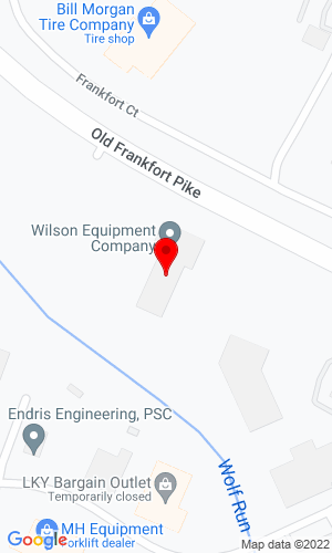 Google Map of Wilson Equipment Company 2180 Old Frankfort Pike, Lexington, KY, 40510