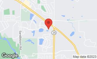 Map of 2181 Indigo Drive ALGONQUIN, IL 60102