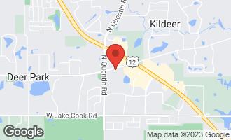 Map of 21858 West Talia Lane DEER PARK, IL 60010