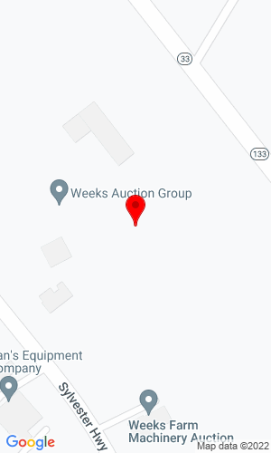 Google Map of WEEKS FARM MACHINERY AUCTION INC 2186 SYLVESTER HWY, MOULTRIE, GA, 31768