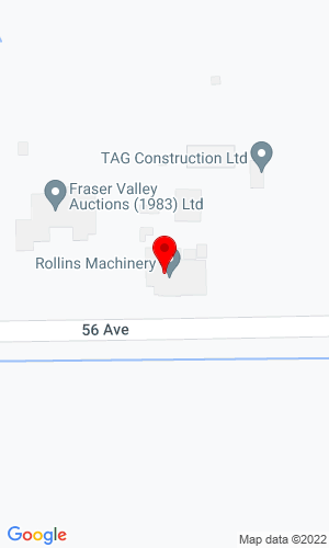 Google Map of Rollins Machinery 21869 56th Ave, Langley, British Columbia, Canada, V2Y 2M9