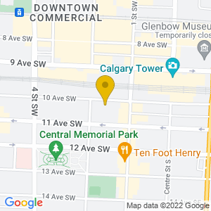 Map to The Hifi Club provided by Google