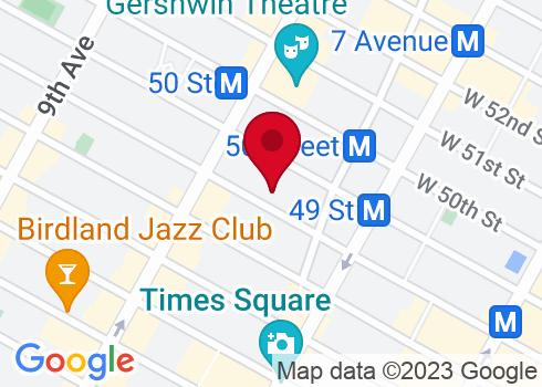 Walter Kerr Theatre Google Maps Location