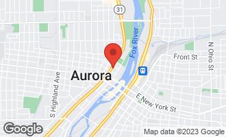 Map of 219 North Lake Street AURORA, IL 60506