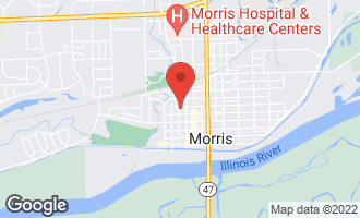Map of 219 West North Street MORRIS, IL 60450
