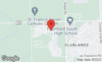 Map of 2190 Pembridge Lane #8303 JOLIET, IL 60431