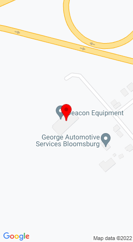 Google Map of Deacon Equipment Company 22 Wedgetown Road+Bloomsburg+PA+17815